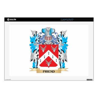 Escudo de armas del amigo - escudo de la familia portátil skins