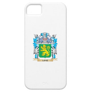 Escudo de armas del amor - escudo de la familia iPhone 5 funda