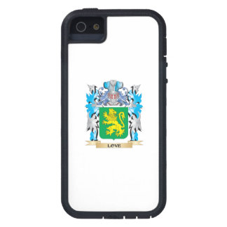 Escudo de armas del amor - escudo de la familia iPhone 5 Case-Mate protectores