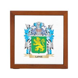 Escudo de armas del amor - escudo de la familia