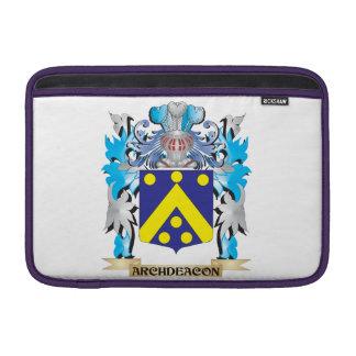 Escudo de armas del arcediano funda macbook air