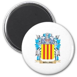 Escudo de armas del balanceo - escudo de la iman de frigorífico