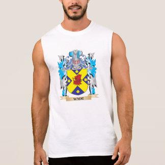 Escudo de armas del bamboleo - escudo de la camiseta sin mangas