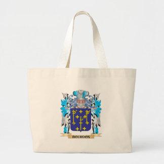 Escudo de armas del bordón bolsas de mano