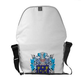 Escudo de armas del bordón bolsa messenger