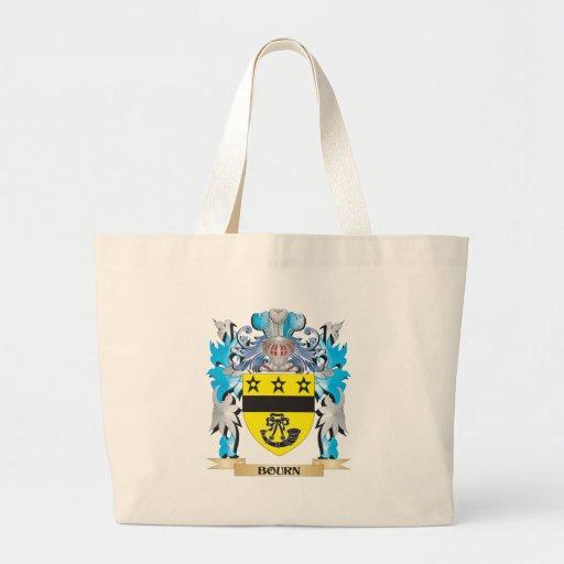 Escudo de armas del Bourn Bolsa De Mano