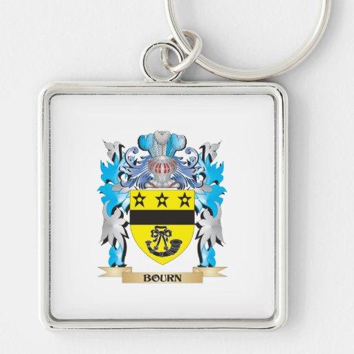 Escudo de armas del Bourn Llaveros Personalizados