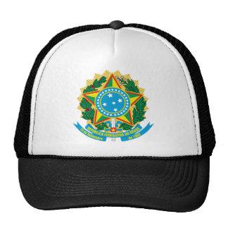 Escudo de armas del Brasil Gorra