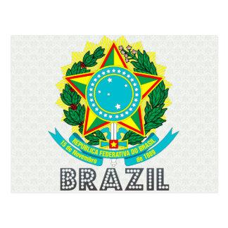 Escudo de armas del Brasil Tarjetas Postales