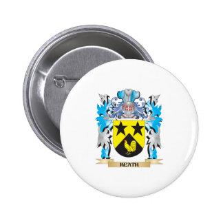 Escudo de armas del brezo - escudo de la familia pins