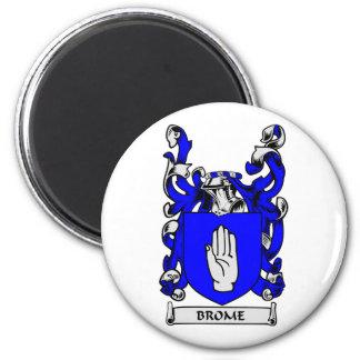 Escudo de armas del BROME Imán Redondo 5 Cm