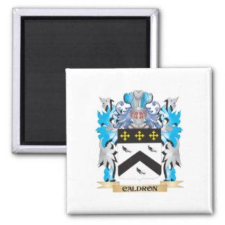 Escudo de armas del caldero - escudo de la familia