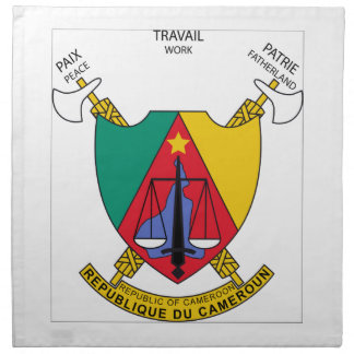 Escudo de armas del Camerún Servilletas De Papel