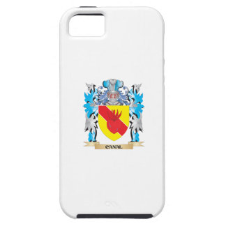 Escudo de armas del canal - escudo de la familia iPhone 5 Case-Mate protectores