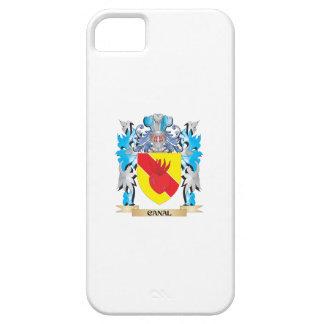 Escudo de armas del canal - escudo de la familia iPhone 5 cárcasas