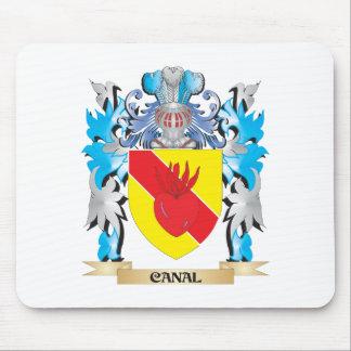 Escudo de armas del canal - escudo de la familia alfombrilla de ratón