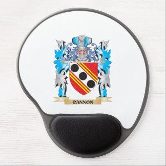 Escudo de armas del cañón - escudo de la familia alfombrilla gel