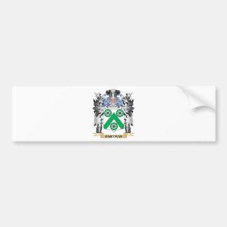 Escudo de armas del carretero - escudo de la pegatina para auto