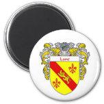 Escudo de armas del carril/escudo de la familia (c imanes para frigoríficos