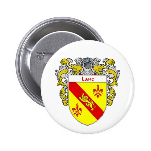 Escudo de armas del carril/escudo de la familia (c pins