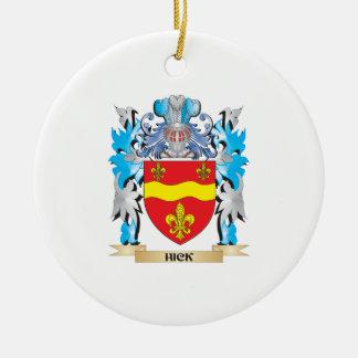 Escudo de armas del cateto - escudo de la familia adorno redondo de cerámica