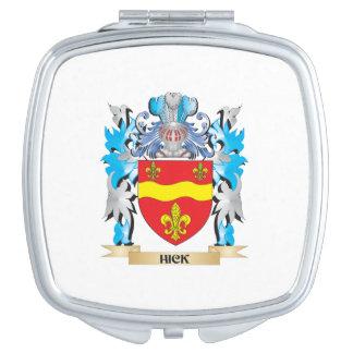 Escudo de armas del cateto - escudo de la familia espejos para el bolso