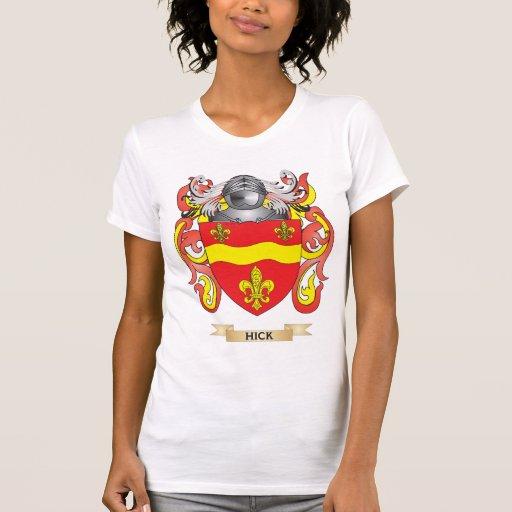 Escudo de armas del cateto (escudo de la familia) camisetas