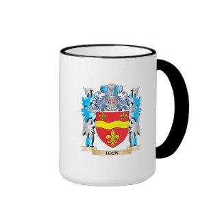 Escudo de armas del cateto - escudo de la familia taza a dos colores