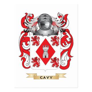 Escudo de armas del Cavy Postal