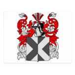 Escudo de armas del cazador postal