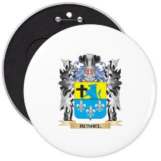 Escudo de armas del celemín - escudo de la familia pin redondo 15 cm