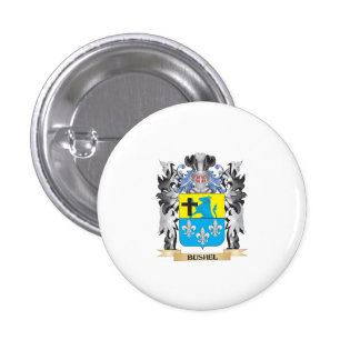 Escudo de armas del celemín - escudo de la familia pin redondo 2,5 cm