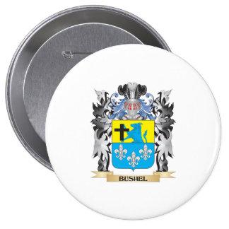 Escudo de armas del celemín - escudo de la familia pin redondo 10 cm