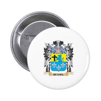 Escudo de armas del celemín - escudo de la familia pin redondo 5 cm