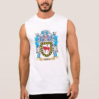 Escudo de armas del col - escudo de la familia camiseta sin mangas