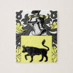 Escudo de armas del col puzzles con fotos