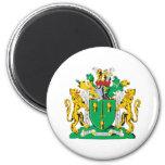 Escudo de armas del condado de Cheshire Imán