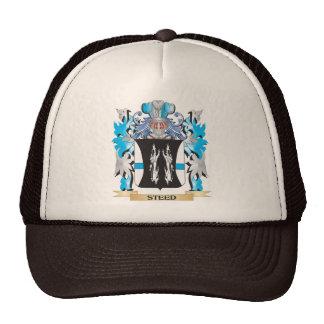 Escudo de armas del corcel - escudo de la familia gorras de camionero