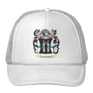 Escudo de armas del corcel (escudo de la familia) gorros bordados