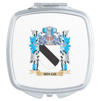 Escudo de armas del corvejón - escudo de la espejo de viaje
