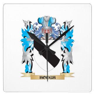 Escudo de armas del corvejón - escudo de la reloj