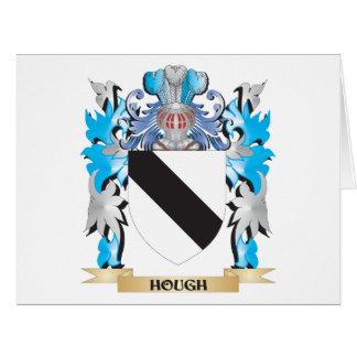Escudo de armas del corvejón - escudo de la tarjetón