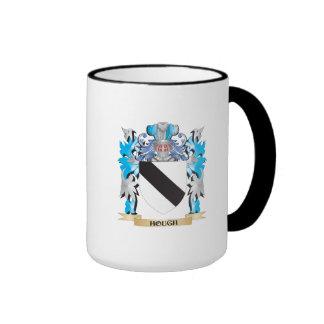 Escudo de armas del corvejón - escudo de la tazas