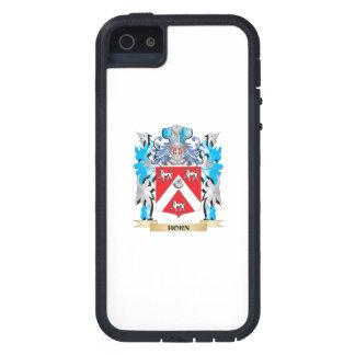 Escudo de armas del cuerno - escudo de la familia iPhone 5 Case-Mate coberturas