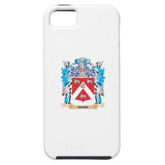 Escudo de armas del cuerno - escudo de la familia iPhone 5 funda