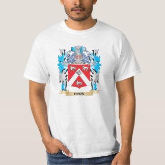 Escudo de armas del cuerno - escudo de la familia remeras