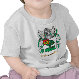 Escudo de armas del cuervo camisetas
