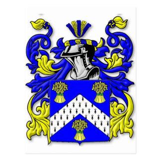 Escudo de armas del Cumming Tarjetas Postales