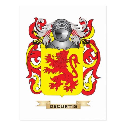 Escudo de armas del De Curtis Postales