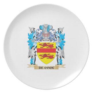 Escudo de armas del De-Gallo - escudo de la famili